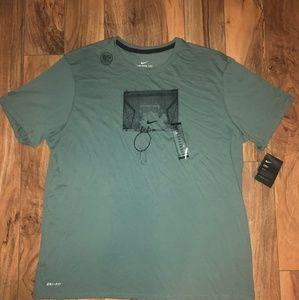 Nike Men's Dri-fit Cotton Graphic Shirt